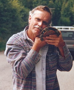 JOHN KING:  Bill's father with his pet turtle. - PHOTOS COURTESY THE KING FAMILY