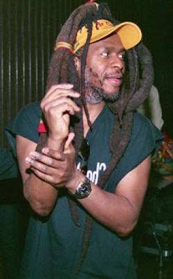 """DREAD! :  David """"Dread"""" Hinds (pictured) and fellow founding member Selwyn """"Bumbo"""" Brown make up Steek Pulse, a socially conscious reggae act playing June 3 at Pozo Saloon. - PHOTO COURTESY OF STEEL PULSE"""
