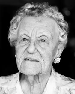 Dorothy Goerke turned 100 on July 19. - PHOTO BY STEVE E. MILLER