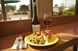 FANCY FARE :  Tired of cafes that serve a cup o joe and little else? Check out the cafe that offers wine, quiche, coffee, and a myriad other tongue-tantalizing delights. - PHOTO BY JESSE ACOSTA