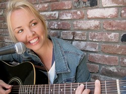 SINGER-SONGWRITER SENSATIONS :  SLO Town resident Deborah Kirk is one of 20 songwriters who will perform original material at Linnaea's Cafe for the July 1 West Coast Songwriters Showcase. - PHOTO COURTESY OF DEBORAH KIRK