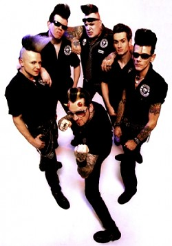 GERMAN PSYCHOBILLIES :  Mad Sin, a psychobilly band hailing from Germany, headlines Downtown Brew's June 17 rockabilly concert. - PHOTO COURTESY OF MAD SIN