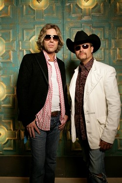 LARGE & WEALTHY :  Country duo Big & Rich plays Pozo Saloon on April 13. - PHOTO COURTESY OF BIG & RICH