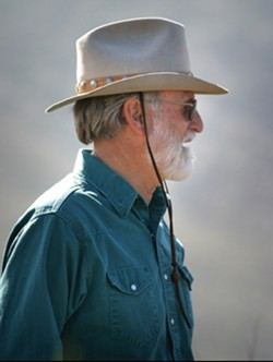 ON THE MOUNTAIN :  Bob Stone at Black Mountain - PHOTO BY CHRISTOPHER GARDNER
