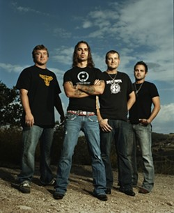 RED DIRT MUSIC FARMERS :  Alt-country act Cross Canadian Ragweed plays Jan. 14 at The Graduate. - PHOTO COURTESY OF CROSS CANADIAN RAGWEED