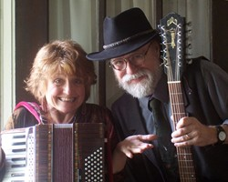 BERRY FUNNY :  You can hear the original and humorous folk songs of Lou and Peter Berryman on Feb. 24 at The Clubhouse. - PHOTO COURTESY OF LOU & PETER BERRYMAN