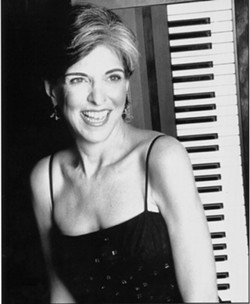 "LET THE GOOD TIMES :  ROLL If you like ass-kicking Louisiana R&B, Texas blues, and Gulf Coast swamp pop, check out Marcia Ball on May 12 at ""Jazz & Blues Rock Morro Bay,"" a daylong music event. - PHOTO BY MARY BRUTON"