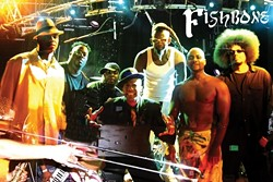 SOMETHING'S FISHY IN A GOOD WAY :  Long before Red Hot Chili Peppers, No Doubt, Sublime, or any of the other reggae/ska/punk/funk/metal hybrids, there was Fishbone (formed in 1979!), which hits Downtown Brew on Feb. 21. - PHOTO COURTESY OF FISHBONE