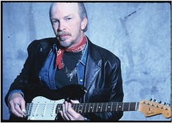 OLD GUN SLINGER :  Dave Alvin and his band, The Guilty Men, also play the May 27 Avila Beach Blues Festival. - PHOTO BY DEONE JAHNKE