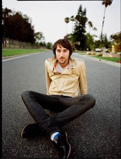 STREET SITTER! :  Skate rat turned singer-songwriter Matt Costa returns to the area with a concert at the Graduate on March 20. - PHOTO COURTESY OF MATT COSTA