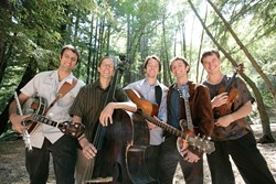 EAR BUTTER :  Hot Buttered Rum, a band that's been called a rock band with bluegrass instruments, comes to Downtown Brew on Aug. 22. - PHOTO COURTESY OF HOT BUTTERED RUM