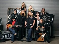 ROCK STARS :  Famed southern rock act Lynyrd Skynyrd plays Pozo Saloon on July 15. - PHOTO COURTESY OF LYNYRD SKYNYRD