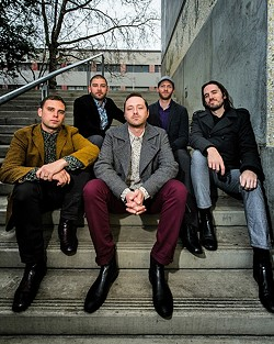 PSYCHE FUNK:  Monophonics (pictured) play a two-band funk show at SLO Brew on July 7. - PHOTO COURTESY OF MONOPHONICS