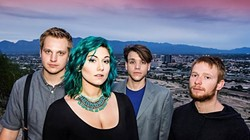 BIG AND BLUESY:  Adara Rae & The Homewreckers bring their blues rock to Frog and Peach on July 5, and Last Stage West on July 10. - PHOTO COURTESY OF ADARA RAE & THE HOMEWRECKERS