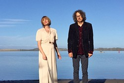 TWO LOVE :  Husband and wife duo To Wake You— Mark Davis and Karoline Hausted—plays May 7 at Steynberg Gallery. - PHOTO COURTESY OF TO WAKE YOU
