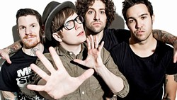 NUMBER ONE:  Alternative rock act Fall Out Boy has the honor of being the first band to grace the Grandstand at this year's California Mid-State Fair on July 20. - PHOTO COURTESY OF FALL OUT BOY