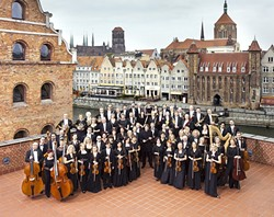 NO JOKE:  One of Poland's best classical ensembles, The Polish Baltic Philharmonic Orchestra, plays March 9, at the Performing Arts Center. - PHOTO COURTESY OF THE POLISH BALTIC PHILHARMONIC ORCHESTRA