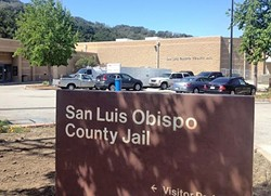 BEHIND BARS:  A tour of the SLO County jail was a window into our criminal justice system. - PHOTO BY CHRIS MCGUINNESS