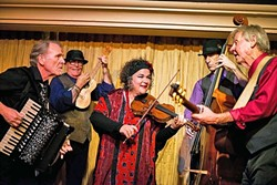 GET WILD:  Genre shifting folk, swing, Gypsy, jazz, and wild classical artists Café Musique present their new album 'Ebb & Flow' at two release parties on April 2 and 3, at the Cambria Center for the Arts. - PHOTO COURTESY OF CAFE MUSIQUE