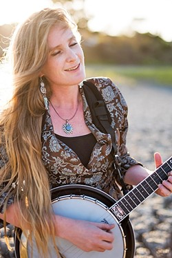 BANJO PRINCESS:  Erin Inglish plays three shows this week in support of her new album: May 5, at The Shell Café; May 8, at Sculpterra Winery; and May 9, at Otter Rock Café. - PHOTO COURTESY OF ERIN INGLISH