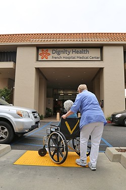 MAKING A CHOICE:  Dignity Health, which operates French Hospital in SLO, is opting out of the state's aid-in-dying legislation, which goes into effect in June. - FILE PHOTO BY DYLAN HONEA-BAUMANN