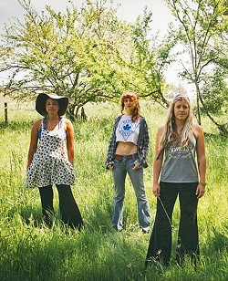 STRAIGHT OUTTA BODEGA:  Bluesy psychedelic pop act Rainbow Girls play the For the Folks series at Honeymoon Café on June 17. - PHOTO COURTESY OF RAINBOW GIRLS