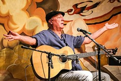 THE VOICE:  Incredible baritone singer Jim Conroy headlines a Songwriters at Play showcase on June 3 at The Porch. - PHOTO COURTESY OF JIM CONROY