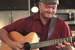 MAHALO:  Award-winning Hawaiian slack key guitarist Patrick Landeza plays St. Benedict's Church on April 23. - PHOTO COURTESY OF PATRICK LANDEZA