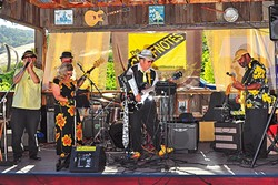 SWAMPIFIED BOOGIE ROCK:  The Cliffnotes bring their boogie rock sounds to Poalillo Vineyards on July 2. - PHOTO COURTESY OF THE CLIFFNOTES