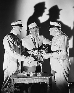 FRAMED!:  In the newly restored 1952 film noir classic 'Kansas City Confidential,' an ex-con trying to go straight is framed for an armored car robbery. - PHOTO COURTESY OF THE FILM DETECTIVE