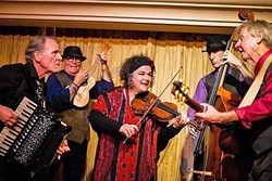 GET WILD:  Café Musique brings their wild classical, folk, Gypsy, and jazz sounds to D'Anbino's on May 20, as they continue their album release tour for Ebb & Flow. - PHOTO COURTESY OF CAFÉ MUSIQUE