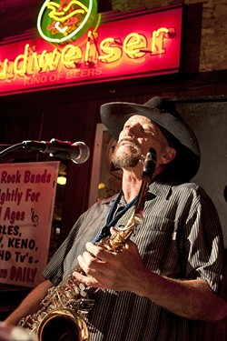 OLD PRO:  John Wessel of Shameless and the John Wessel Band has a new CD—The Spirit of Life—and a string of gigs to promote it, including Jan. 30 at Rancho Nipomo. - FILE PHOTO BY STEVE E. MILLER