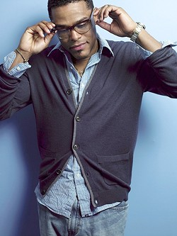 SOUL MAN:  R&B singer Maxwell performs on June 23, at Vina Robles Amphitheatre, performing songs from his new album blackSUMMERS'night. - PHOTO COURTESY OF MAXWELL