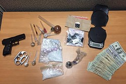 FIGHTING THE WAR ON DRUGS:  The SLO County Narcotics Task Force is a multi-agency group dedicated to tackling the drug problem in SLO County. - PHOTO COURTESY OF SLO COUNTY SHERIFF'S OFFICE