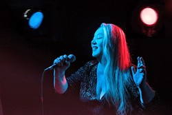 ETTA'S PROTÉGÉ:  Deb Ryder brings her big bluesy voice to the next SLO Blues Society show on Feb. 27 at the SLO Vets Hall. - PHOTO COURTESY OF DEB RYDER