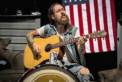 DANGEROUS :  Outlaw country singer-guitarist Lorin Walker Madsen returns to The Pour House on Jan. 28. - PHOTO COURTESY OF LORIN WALKER MEDSEN