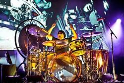 LED ZEPPELIN EXPERIENCE:  Jason Bonham pays tribute to his father, Led Zeppelin drummer John Bonham, May 14, at Vina Robles Amphitheatre. - PHOTO COURTESY OF JASON BONHAM AND MSOPR.COM