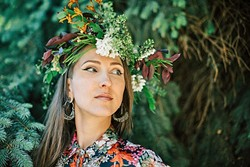 WILD ONE:  Jenny Kendler (pictured) is an environmentalist and an artist with roots in Virginia and San Luis Obispo. Her exhibit Bewilder | Be Wilder is currently on display at the San Luis Obispo Museum of Art. - PHOTO COURTESY OF JENNY KENDLER
