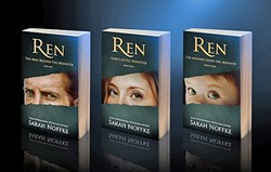 BELOW THE SURFACE:  Sarah Noffke first wrote Ren as a side character in her Lucidites series, but he became so popular among fans that she wrote him his own book, which turned into three. - PHOTO COURTESY OF SARAH NOFFKE