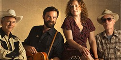 GO WEST!:  Western Swing act The Carolyn Sills Combo plays Frog and Peach on May 12. - PHOTO COURTESY OF THE CAROLYN SILLS COMBO