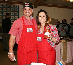 MONEY WHERE YOUR MOUTH IS Best Ever Salsa Company was first started as a hobby by Curtis and Karli Twisselman of Paso Robles, and grew into a full-fledged business. With help from local nonprofit Slow Money SLO, the couple is now in the middle of a peer-to-peer lending campaign that could boost their success. - PHOTO BY HAYLEY THOMAS CAIN