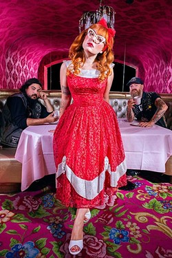 CAKE WALK :  Hayley and the Crushers bring their surf/garage/punk to SLO Brew on Oct. 9. - PHOTO BY PATRICK PATTON