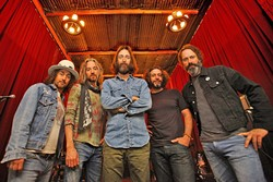 COSMIC CALIFORNIA:  Trippy rockers the Chris Robinson Brotherhood will attempt to blow your mind at Fremont Theatre this Dec. 15. - PHOTO COURTESY OF CHRIS ROBINSON BROTHERHOOD