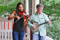 BETTER TOGETHER:  Two amazing performers—Rhiannon Giddens and Dirk Powell—join forces to present an evening of Americana music on Nov. 18 at the Fremont Theater. - PHOTO COURTESY OF RHIANNON GIDDENS AND DIRK POWELL