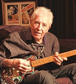 THE GODFATHER:  British blues icon John Mayall plays Nov. 16 at the Fremont Theater. - PHOTO BY JEFF FASANO