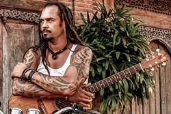 ACTIVIST:  Michael Franti & Spearhead will bring their socially conscious sounds to Avila Beach Resort on Aug. 25. - PHOTO COURTESY OF MICHAEL FRANTI