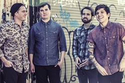 FIRST BLOOD:  Florida-based indie rock act Surfer Blood comes to SLO Brew on Feb. 6. - PHOTO COURTESY OF SURFER BLOOD