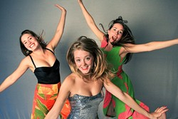 WHEE!:  The effusive T-Sisters (pictured) play a free family-friendly Live on the Rocks show at The Cliffs with The Show Ponies on March 12. - PHOTO COURTESY OF THE T SISTERS