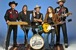 SWING ME SANTA:  If Western swing is your thing, head to Pine Street Saloon for a rowdy country holiday gig featuring Carolyn Sills Combo this Dec. 17. - PHOTO COURTESY OF CAROLYN SILLS