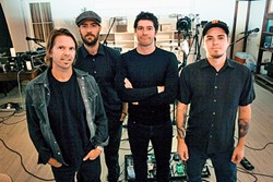 TRUTH!:  Local rock act Truth About Seafood plays SLO Brew's Pint Night on Feb. 28. - PHOTO COURTESY OF TRUTH ABOUT SEAFOOD